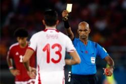 CAN 2015 : L'arbitre de Tunisie / Guinée Equatoriale suspendue six ans .