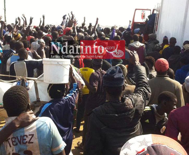 URGENT - SOULÈVEMENT A GUET-NDAR: les mareyeurs très en colère contre la Mairie.