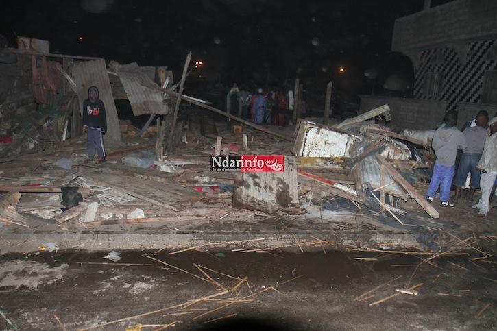 GRAVE INCENDIE : Une essencerie  explose à Guet-Ndar (photos)