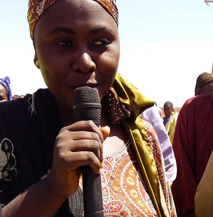 Mme Sokhna Mbodji, représentante des femmes Boundoume