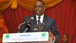 Macky SALL au XVIème Sommet des Chefs d'Etat et de Gouvernement de l'Organisation pour la mise en Valeur du fleuve Sénégal (OMVS)