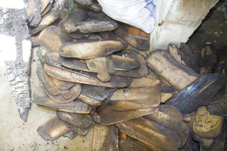 SAINT-LOUIS - INCENDIE À L'INSTITUT ISLAMIQUE BACHIR SAMB : des centaines de tablettes et livres coraniques calcinées (vidéo)