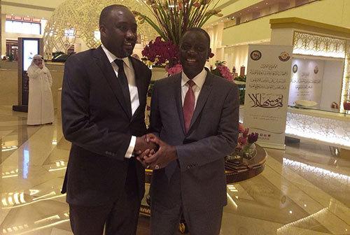 SÉNÉGAL – MICROENTREPRISE : Maodo Malick MBAYE présente le concept d'Hôtel d'entreprises à Doha.