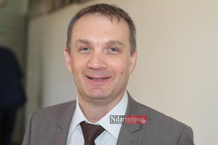 Christophe  TROYAUX, le directeur des relations internationales de la ville Saint-Louis