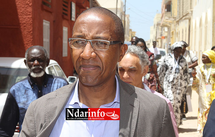 SAINT-LOUIS : l'ancien Premier Ministre Abdoul MBAYE accueilli à HOSTELYA 2015 (photos)