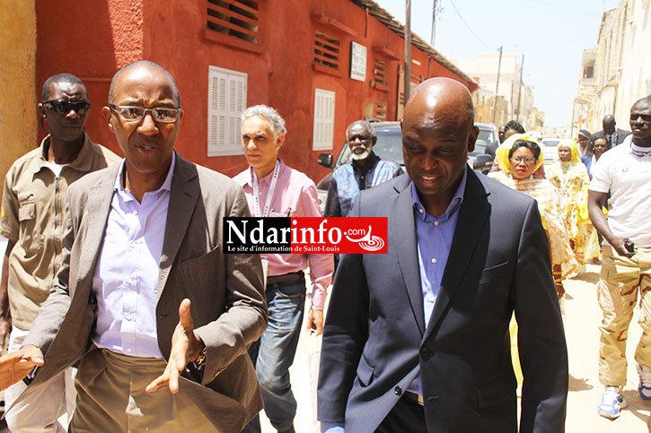 SAINT-LOUIS : l'ancien Premier Ministre Abdoul MBAYE accueilli à HOSTELYA 2015 (photos)
