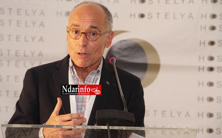 SAINT-LOUIS : Hervé FLEURY, le directeur de l'Institut Paul Bocuse, hôte de marque de HOSTELYA 2015.