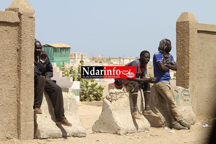 SAINT-LOUIS : les cimetières de Thième et Thiaka Ndiaye vandalisés sans vergogne. Regardez !