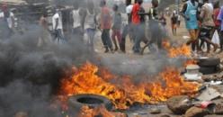 Guinée: Conakry paralysée par de violentes manifestations
