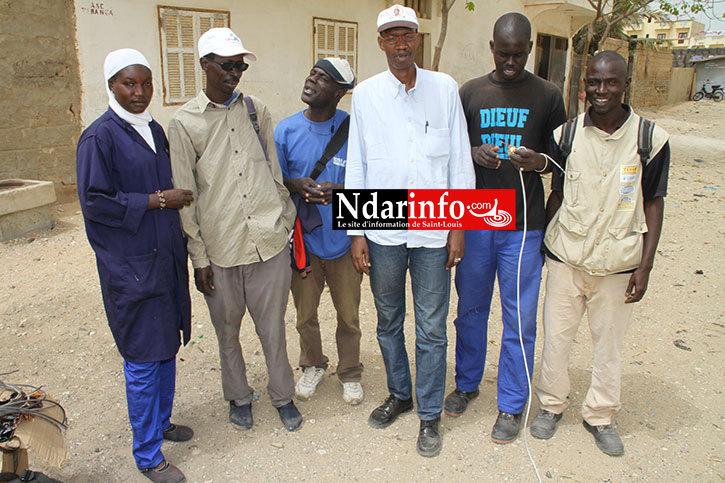 ÉCLAIRAGE PUBLIC : Boubacar DIOP rénove le réseau de DAROU.