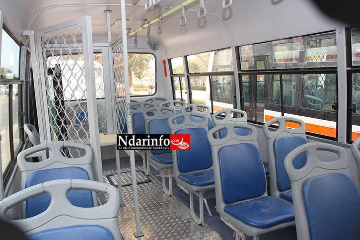 SAINT-LOUIS - TRANSPORT URBAIN: les 50 nouveaux bus réceptionnés sur la Place Faidherbe (Photos)