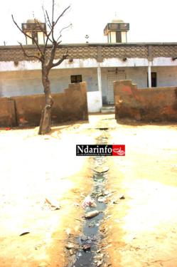 ASSAINISSEMENT : Puanteur et odeur infectes à l'entrée de la Mosquée Amath Thiama Diarra de LÉONA.