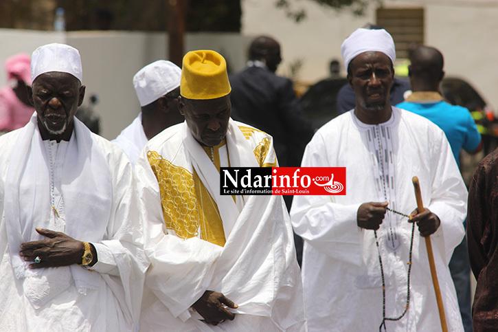 ACCUEIL DU ROI MOUHAMED VI: Grande mobilisation de la Communauté musulmane de Saint-Louis.