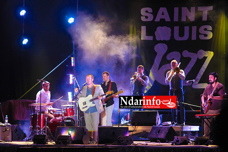 VIDÉO - MALTED MILK: la clôture en apothéose du Festival de Jazz de Saint-Louis.