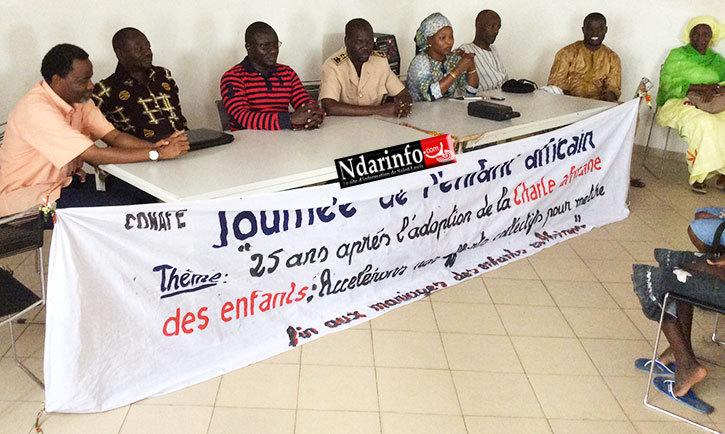 Journée de l'enfant africain: l'adjoint au gouverneur Babacar Bâ appelle les parents à la sérénité.
