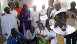 POSTE DE SANTÉ DE DIAMEGUÈNE : les populations magnifient l'action bénévole du docteur Ahmadou DIA.