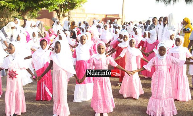 (PHOTOS – VIDÉOS) LEYLATOUL KHADR 2015 : Le Daara Serigne Mamoune NDIAYE fête l'excellence.