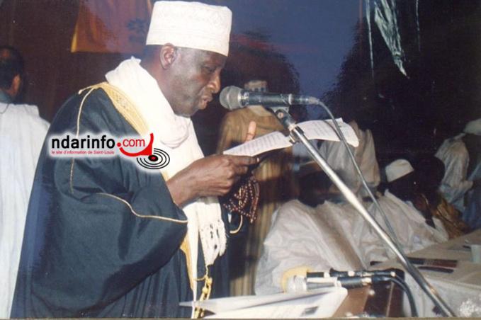 Le Professeur Abdallah SALL, imam de la mosquée Abass SALL
