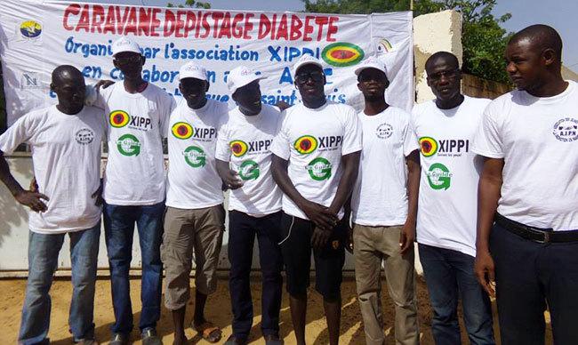 SAINT-LOUIS - NDIANDANE : XIPPI dépiste le diabète et distribue 100 moustiquaires imprégnées.