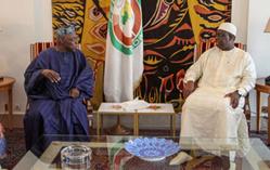 Le  Président Macky Sall reçoit l'envoyé spécial de son homologue nigérian.