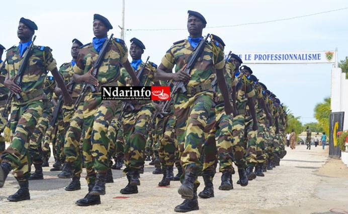 Présentation du drapeau à Saint-Louis : 1.099 recrues militaires dont 41 filles fêtées au Camp Bango