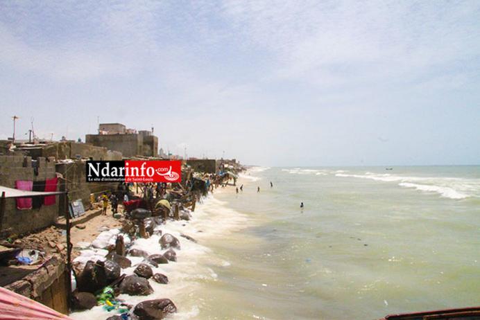 GUET-NDAR EN DANGER : L'assaut des vagues s'intensifie (Vidéo)