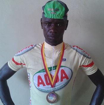 Le cycliste Abdoualye THIAM