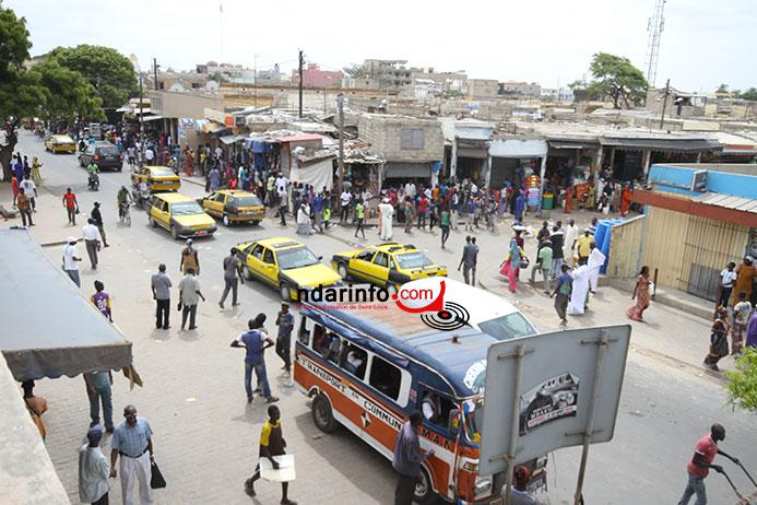 Échauffourées au marché Tendjiguene: rude bataille entre ambulants et gendarmes (Vidéo)