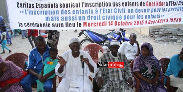 NON-DÉCLARATION DES NAISSANCES : des milliers de vies en danger, à GUET-NDAR.