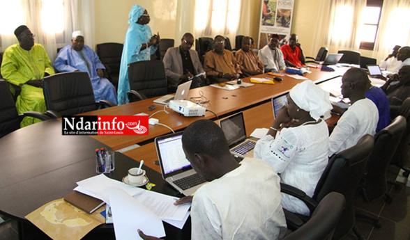 Atelier avec les maires au siège du PDIDAS