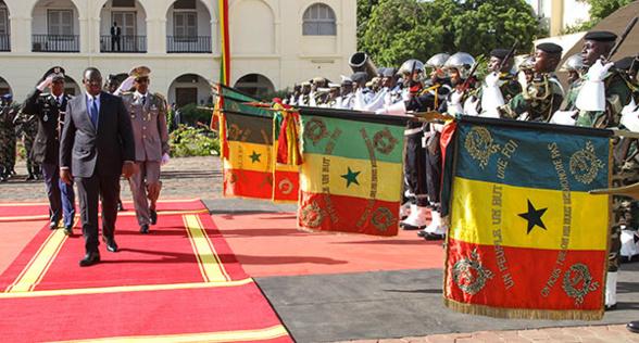 """MACKY SALL aux Forces armées : """" la Nation est fière de vous et rassurée par votre engagement"""""""