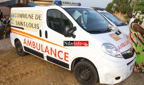 ÉVACUATION DES MALADES : Yérim THIOUB offre des ambulances aux Communes de Saint-Louis, Gandiol et Ross-Bethio.