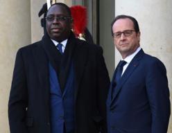"""ATTENTATS A PARIS: Macky SALL exprime sa """"solidarité agissante"""" au peuple français."""