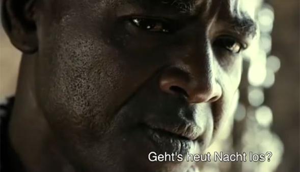 Balla DIARRA alias « Samba » l'interprète dans le Film «  La Pirogue » de Moussa TOURE ».