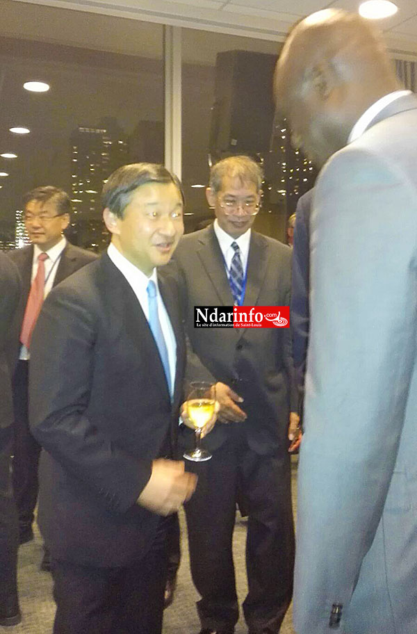 Echanges entre le Maire et SEM Naruhito, le prince héritier du Japon.