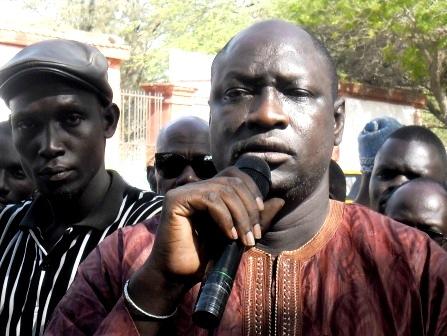 Vieux Alioune Mbdoji, ancien Président du regroupement des chauffeurs et transporteurs de la région