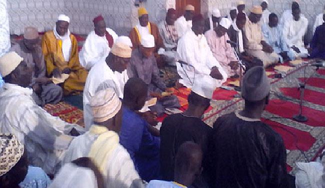 Maouloud : ouverture du Burde à la Mosquée Ihsane de Saint-Louis