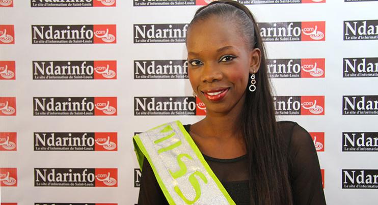 Ndèye Marième NDIAYE, MISS SAINT-LOUIS dégage ses ambitions : «  Je veux décrocher le titre national pour ma ville » (vidéo)