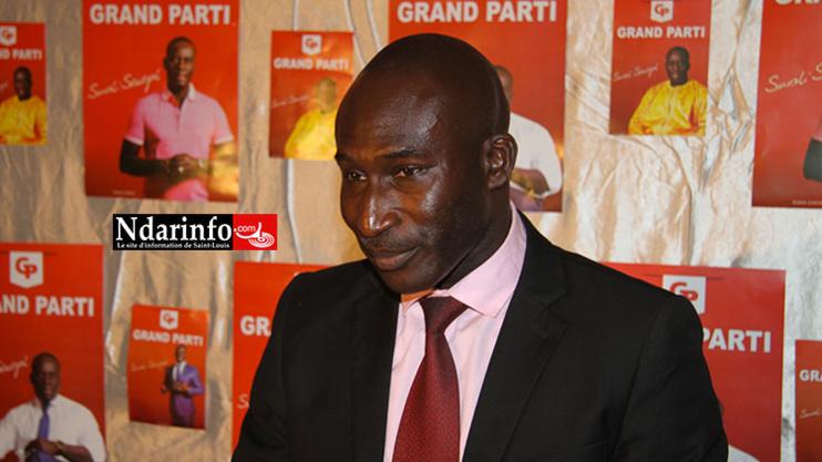 Dame SECK, responsable au Grand Parti Soxali Sénégal. Crédit Photo: Ndarinfo.com