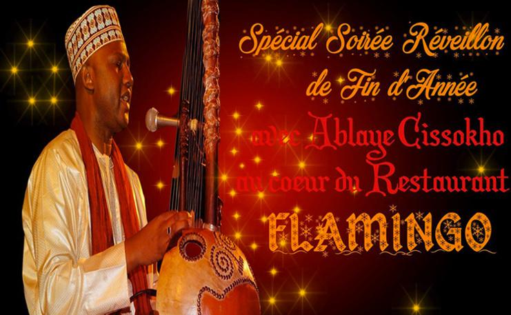 SPÉCIALE SOIRÉE DE FIN D'ANNÉE : Ablaye CISSOKO, au Flamingo, le 31 décembre.