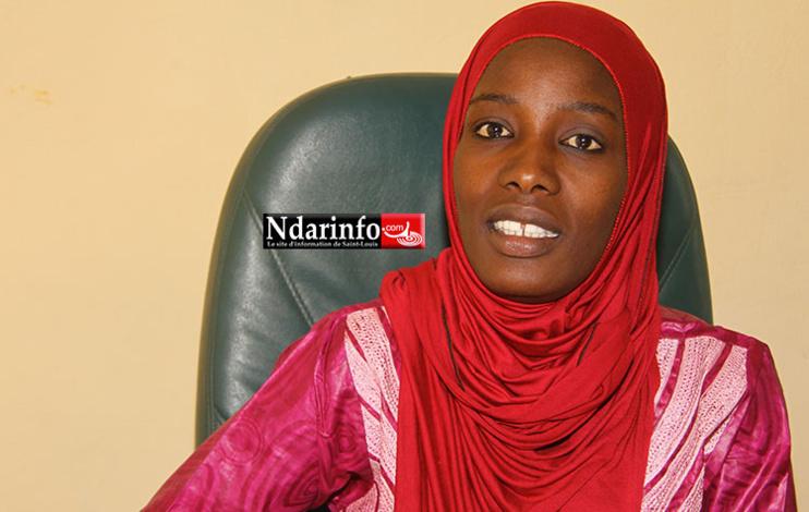Mounass TOUNKARA, coordonnatrice du centre ANDE TAXAWU TALIBE (ATT)