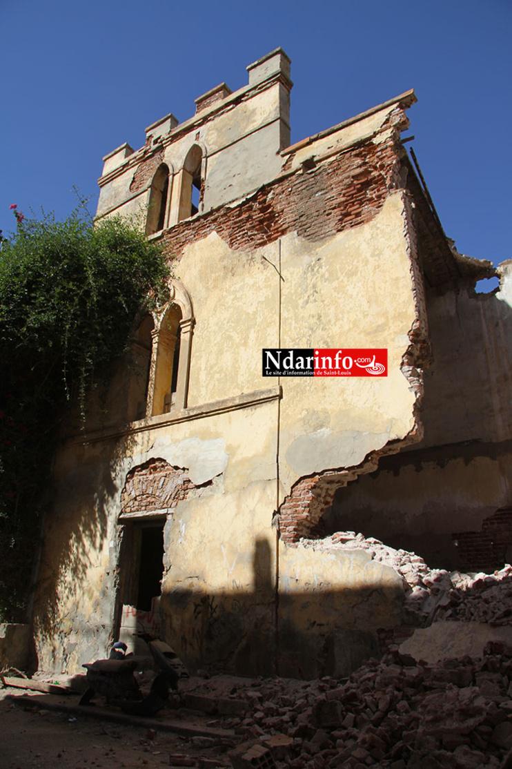 MASSACRE DU PATRIMOINE: Attentat sur l'Église « oubliée » de Saint-Louis.
