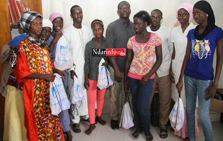 PROJET ASK : 25 kits d'hygiène offerts aux jeunes filles du Centre la LIANE.