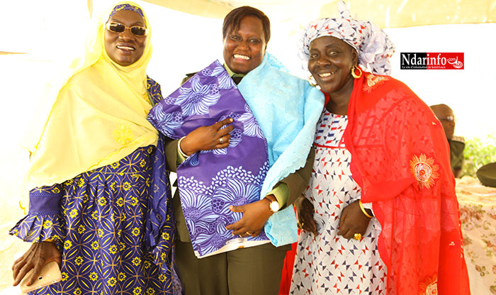 NOMMÉE A LA DGASP/R : hommages poignants et témoignages retentissants accompagnent Agnés NDIOGOYE.