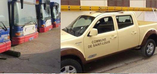 """Des véhicules peints aux couleurs de l'APR : """"un manque de respect à l'endroit des Saint-Louisiens"""", fustige Abdoulaye NDIAYE."""