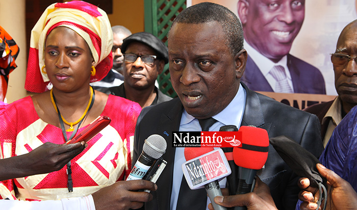 REFERENDUM : Cheikh Tidjane GADIO corrige Macky SALL et exige le report ( déclaration intégrale)