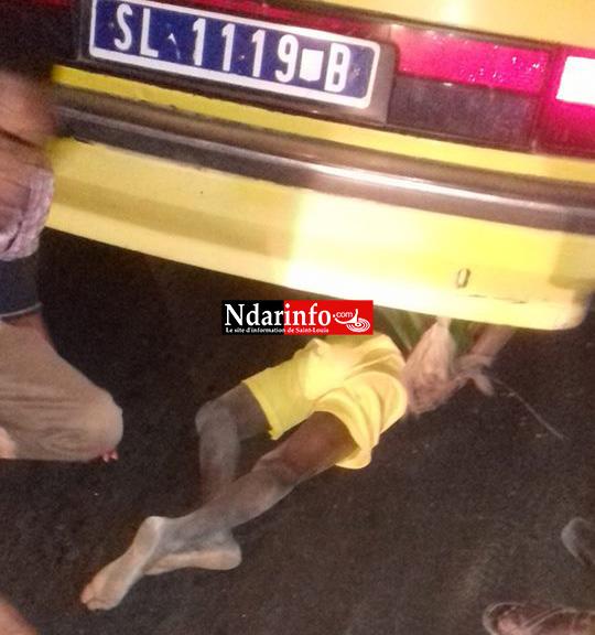 Saint-Louis: un taxi écrase la tête d'un talibé à Léona.