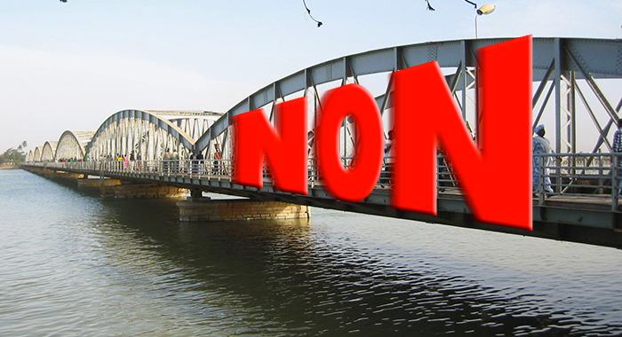 L'ébullition  du « NON », ce soir, à Saint-Louis.