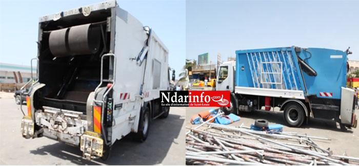 ASSAINISSEMENT : deux bennes tasseuses introduites dans le circuit de collecte d'ordures.