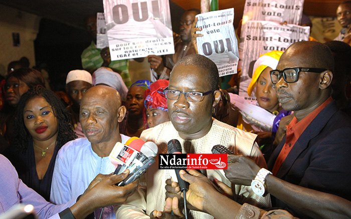 VIDÉO - Alioune DIOP tire sur le camp du « NON » : « tous ceux qui soutiennent et encadrent l'homosexualité sont parmi eux »